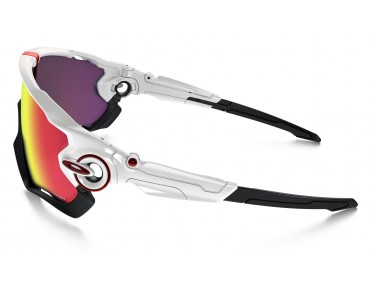 OAKLEY JAWBREAKER - occhiali polished white w/PRIZM ROAD