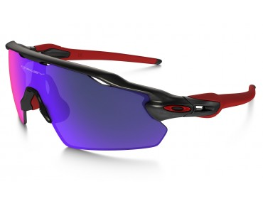 OAKLEY RADAR EV Pitch Sportbrille matte black ink w/ positiv red iridium