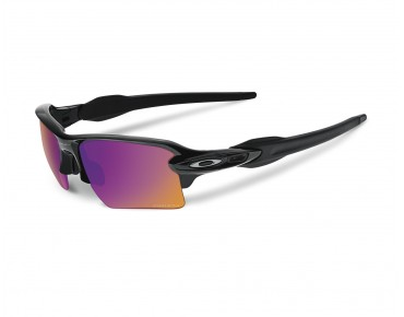 OAKLEY FLAK 2.0 XL glasses polished black w/PRIZM TRAIL