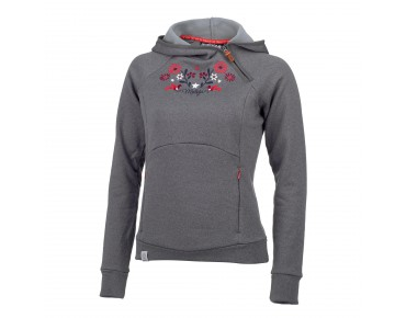 maloja TerzaM. women's fleece hoody dark cloud