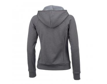 maloja Damen Fleece Hoodie TerzaM. dark cloud