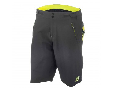 ROSE MATS bike shorts black/lime