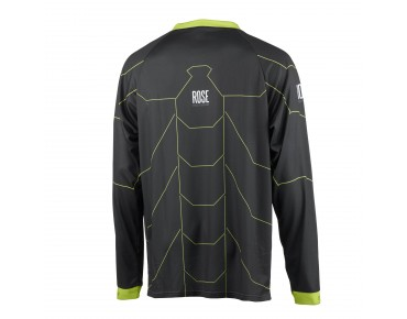 ROSE FR CYW bike shirt grey/lime