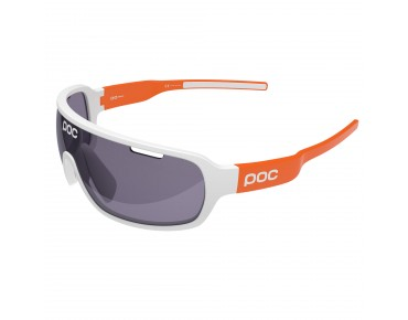 POC DO BLADE sports glasses hydrogen white/zinc orange