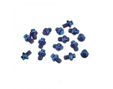 Reverse R replacement pins for Escape pedals blue