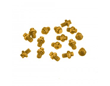 Reverse R replacement pins for Escape pedals gold