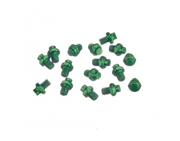 Reverse R replacement pins for Escape pedals green
