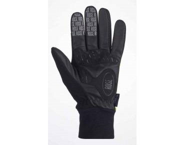 ROSE ROAD EUROTEX winter gloves yellow fluo/black