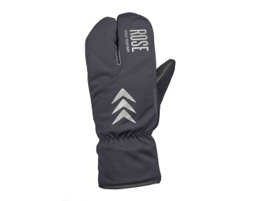 ROSE TWO FINGER EUROTEX winter gloves black