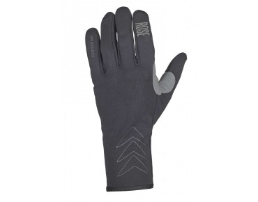 ROSE TEAM WIND Langfingerhandschuhe black