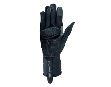 ROSE TEAM WIND full finger gloves black