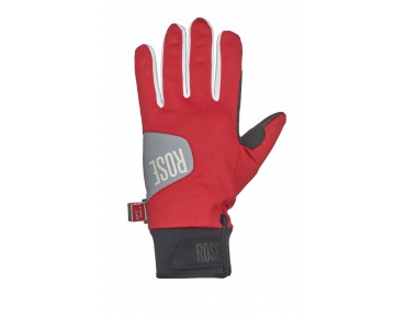 ROSE WIND gloves red/white