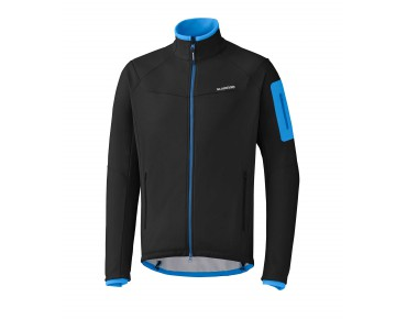 SHIMANO TOUR WINTER SOFTSHELL Jacke black
