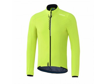 SHIMANO PERFORMANCE STRETCH WINDBREAKER Windschutz Jacke neon yellow