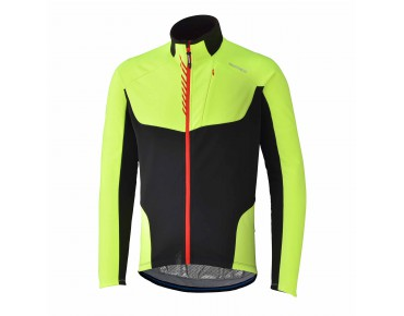 SHIMANO PERFORMANCE WINDBREAKER Windschutz Jacke neon yellow