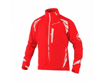 ENDURA LUMINITE 4in1 waterproof jacket hi-viz red