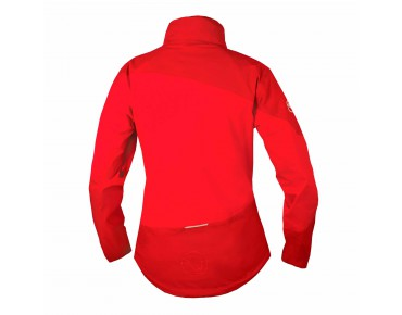 ENDURA SINGLETRACK Damen Regenjacke red