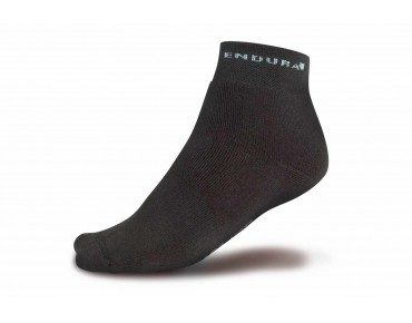 ENDURA THERMOLITE winter socks twin pack black