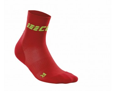 cep ULTRALIGHT SHORT Socken red/green