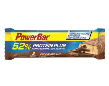 PowerBar 52% Protein Plus bar Chocolate Nut