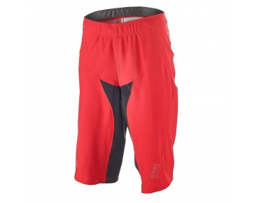 GORE BIKE WEAR ALP-X PRO WINDSTOPPER Soft Shell shorts red