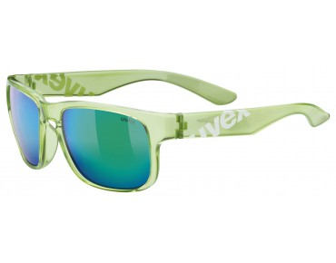 uvex lgl 22 Brille green white/mirror green