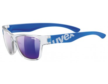 uvex SPORTSTYLE 508 kids' glasses clear blue/mirror blue