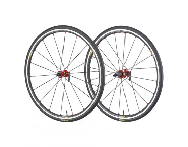 "MAVIC Ksyrium Elite WTS 28"" / 700 C road wheels schwarz/rot"