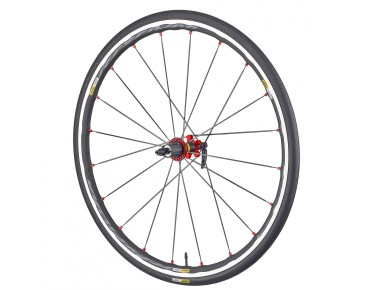 "MAVIC Ksyrium Elite WTS 28"" / 700 C road wheels black/red"