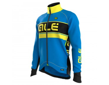 ALÉ GRAPHICS PRR BERING 2016 softshell jacket blue fluo/yellow