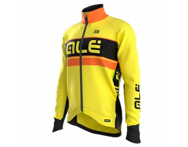 ALÉ GRAPHICS PRR BERING 2016 softshell jacket flou yellow/flou orange