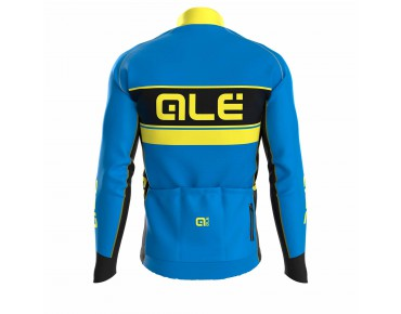 ALÉ GRAPHICS PRR BERING long-sleeved jersey blue fluo/yellow