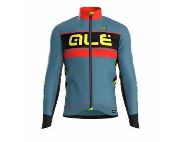 ALÉ GRAPHICS PRR BERING long-sleeved jersey grey/red