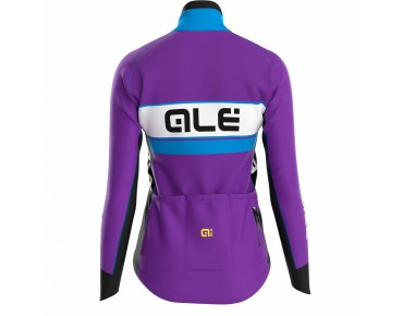 ALÉ GRAPHICS PRR BERING 2016 women's softshell jacket violet/sky blue