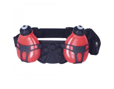 FUEL BELT HELIUM H20 Trinkgürtel black/rush red