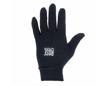LIGHT liner gloves black