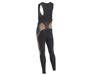 NORTHWAVE EXTREME GRAPHIC windproof thermal bib tights black/camo/orange fluo