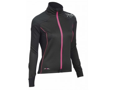 NORTHWAVE VENUS women's windbreaker black/fuchsia