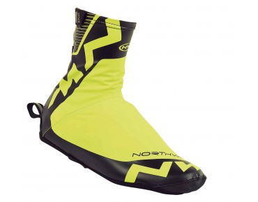 NORTHWAVE H2O WINTER overshoes yellow flou/black