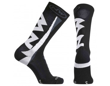 NORTHWAVE EXTREME WINTER socks black/white