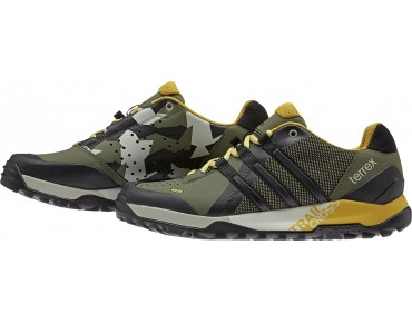 adidas TERREX TRAIL CROSS 2015 FR/Dirt Schuhe base green s15/core black/raw ochre f15