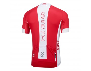 LINE short-sleeved jersey red/white