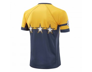 Deputy Sheriff TOUCHDOWN cycling shirt blue/yellow