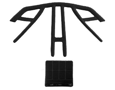 IXS TRAIL RS and TRAIL RS EVO replacement pads black