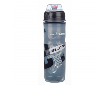 Elite Iceberg 650 ml insulated drinks bottle black