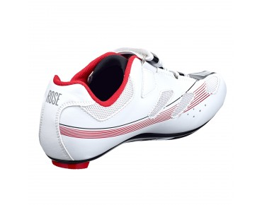 ROSE RRS 11 Rennradschuhe white/black/red