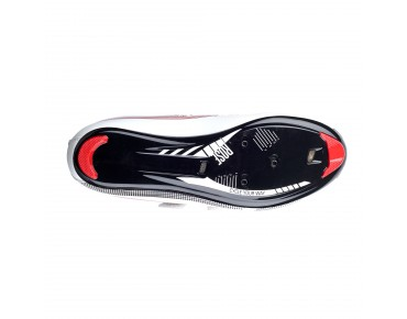 ROSE RRS 11 - scarpe bici da strada white/black/red