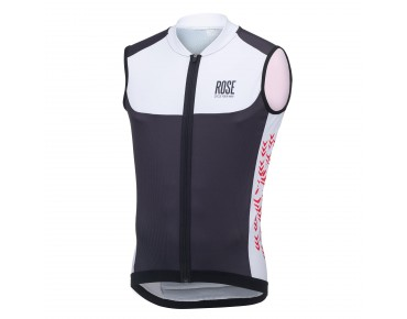 ROSE LIGHT PRO - maglia senza maniche black/white/red