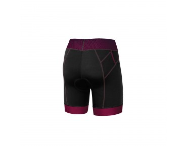 2XU PERFORM PRO women's tri shorts black/barberry