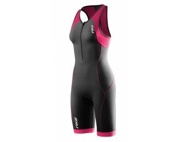 2XU ACTIVE 2016 women's trisuit black/cherry pink